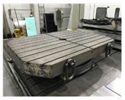 USED CINCINNATI GILBERT AIR LIFT ROTARY TABLE, 20,000 LB CAPACITY