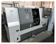 Samsung SL-25B/500 CNC Turning Center, Stock 1126