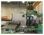 "Titan AFD 105-H 4"" Horizontal Boring Mill"