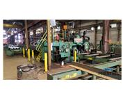 Peddinghaus PCD1100/3B Beam Drill and ABCM 1250/3D Coping Line