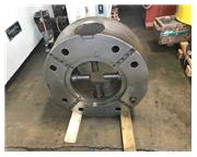 "31"" ROTOMORS 4-JAW Self Centering Hydraulic Chuck with 15"" Bore,"