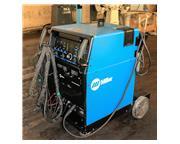 350 Amp Miller Synchrowave 350 LX ARC WELDER, Cooler, Wheel Cart