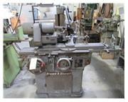 8 14 Brown  Sharpe No. 13, S/N: 523-13-1966, Power Table, TOOL  CUTTER GRINDER, Motorized