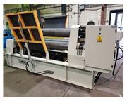 "8' x 1"" IMCAR SHIR 12/4 Hydraulic 3 Roll Plate Bending Rolls"