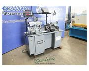 "11"" x 18"" Hardinge # HLV-H , precision tool room lathe, inch/metric threading, 5"