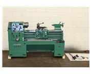 """16"""" Swing 40"""" Centers Victor 1640 ENGINE LATHE, Inch/Metric,3-Jaw, 5 Collet Clos"""