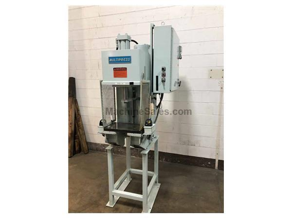 8-TON MULTIPRESS MODEL W4R87M C404FS1 BENCH MOUNTED HYDRAULIC PRESS
