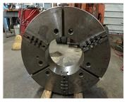 "32"" 3-JAW NOBLE FORGED STEEL BODY CHUCK WITH REV TOP JAWS"