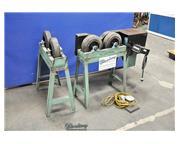 Custom , 500 lb. tank rolls, controller, foot pedal, #A4376