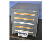 "Stanley Vidmar cabinet, 5- 5"" drawers, #A2703"