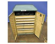 Heavy duty parts cabinet, 5 drawer, #A3007