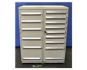 Heavy duty cabinet, 15 drawer, locks on all drawers, #A1751