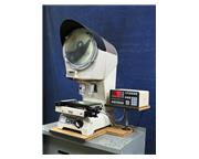 "12"" Screen Nikon V12BD, NEW 2000, QUADRA-CHEK 2000, 3 LENSES, OPTICAL COMPARATOR, 10X"