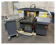 """13"""" x 18"""" Hyd-Mech # S20A-SERIES II, fully automatic mitering bandsaw, 400 FPM,"""