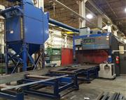 USED BURLINGTON AUTO MODEL PYTHON X STRUCTURAL STEEL FABRICATING SYSTEM