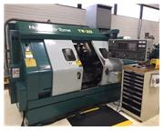 Nakamura-Tome TW-20MM Dual Spindle CNC LATHE, Fanuc 18T, Dual Turret, Live Tool, Chip Conv