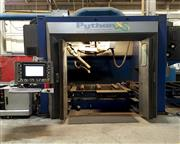 Burlington # PYTHON-X , structural steel fabricating system, Hypertherm HPR 260 XD plasma