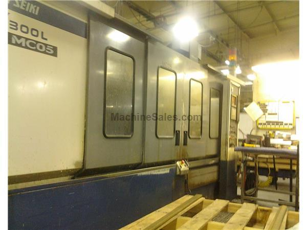 Mori Seiki M300L/3000 Vertical Machining Center