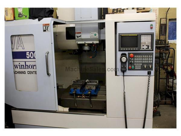 TWIN HORN MODEL VA500 3-AXIS CNC VERTICAL MACHINING CENTER
