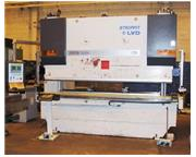 120 TON, LVD #PPEB-120 TON 8-AXIS CNC HYDRAULIC PRESS BRAKE, MFG 2006