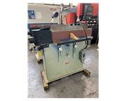 "USED PROGRESS MACHINE 6"" x 108"" EDGE SANDING MACHINE FOR WOOD, St"
