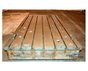 "T-Slotted Floor Plates, (4) 69"" x 118"" x 14"" Thick, Matched"