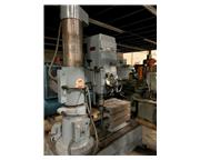 """3' -9"""" Ikeda # RMS-9 , radial arm drill press, #4MT, 50-1500 RPM, box table, Jacobs c"""