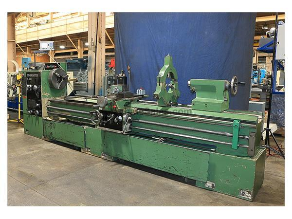 "23"" Swing 120"" Centers Timemaster S2316 ENGINE LATHE, Inch/Metric, Gap, Steady, 3-Jaw, Toolpost,"