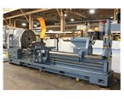 "40"" Swing 120"" Centers Geminis GE-1000-A ENGINE LATHE, Inch/Metric,Gap,4-Jaw,Ste"