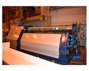 """Faccin 4HEL-3139 1"""" x 10' 4-Roll  CNC Plate Bending Roll"""