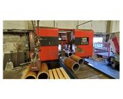 "USED AMADA 20"" DUAL COLUMN FULLY AUTOMATIC HORIZONTAL BANDSAW MODEL DY"