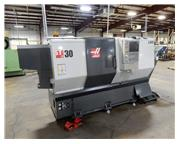 Haas ST-30 Big Bore, 2013, 15″ Chk, Tool Setter, Tailstock, Chip Conveyor
