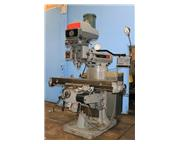 "58"" Table 4HP Spindle Bridgeport SERIES II VERTICAL MILL, Vari-Speed, Acu-Ritte DRO,"