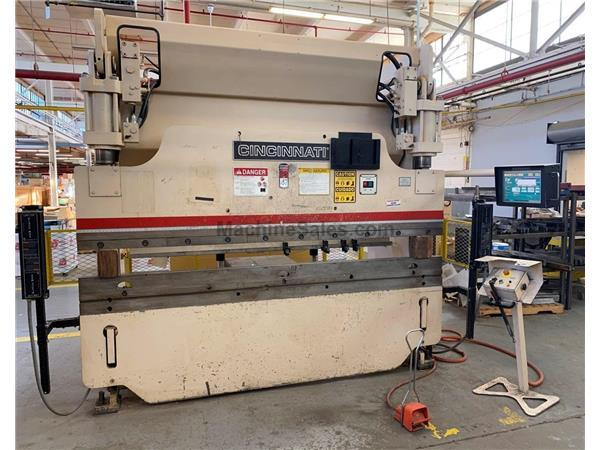 90 TON  x 10' CINCINNATI MODEL 90PF8 CNC HYDRAULIC PRESS BRAKE