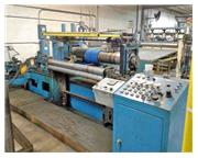 "48"" (1219mm) x 4.75"" (121mm) BRANER 20,000# SLITTING LINE (13786)"