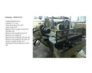 Hufford A10 Metal Stretching Forming Machine w/ 6 inch Heads