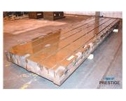 "Reference #30974  T-Slotted Floor Plates (4) 60"" x 218.75"" x 10&q"