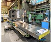 "Giddings & Lewis G60 6"" CNC Table Type Boring Mill"