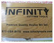 Router Bit Set 3pc Infinity