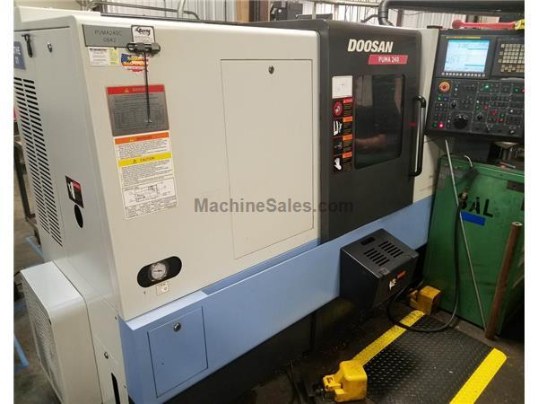 2012 Doosan Puma 240B CNC Turning Center