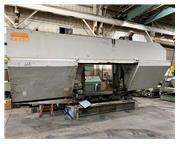 "65"" x 41"" Kasto # HPBA1060/1660U , semi-automatic dual column horizontal bandsaw"
