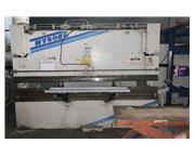 100 Ton x 12' WYSONG MTH100-12 Hydraulic w/Autogauge BG