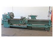 "25"" Swing 120"" Centers Tos SN63C ENGINE LATHE, Inch/Metric,Gap,Taper,4 Jaw, 15 H"