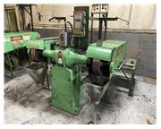 5HP Motor 2Hd Heads Setco SPL, CONTACT WHEELS, GRINDING BELTS BUFFER POLISHER, GUARDING, B