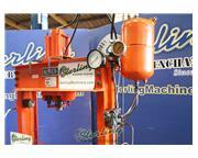 "40 Ton, Nugier # H40-14APBD , 14"" ram stroke, air over hydraulic operated H-Frame pre"