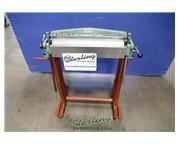 16 gauge x 2' Berkroy # B924 , box & pan hand brake, stand w/ casters, #A6290