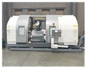 """NAKAMURA STS-40, Fanuc 18i-TA CNC,24"""" Swing Over the Bed,Twin Spindle,"""