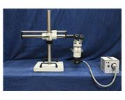Leico Wild 8 Stereo Microscope, 4 Units Available MICROSCOPE, 6 X to 50X Mag.,150 W Power