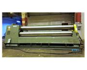 """Roundo PS-360 14' x 11/16""""  3-Roll Double Pinch Plate Bending Roll"""