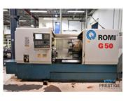 Romi G50 CNC Lathe